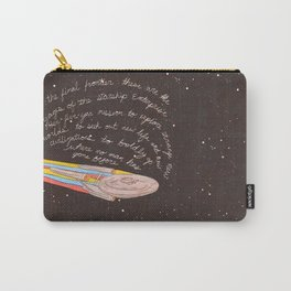 These Are The Voyages Carry-All Pouch