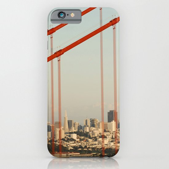 Golden San Gate Francisco Bridge iPhone & iPod Case