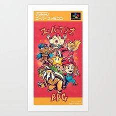 Tribute: Super Mario RPG Cover Art Print