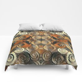Coiled Metals Comforters