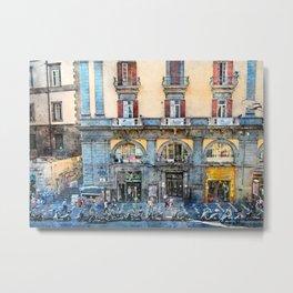 Neapol Napoli Italy city art #Napoli Metal Print