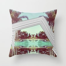 Tropics Trip Throw Pillow
