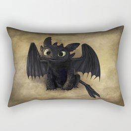Baby Toothless Rectangular Pillow