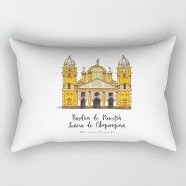 Basilica de Nuestra Senora de Chiquinquira Rectangular Pillow