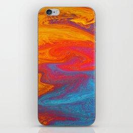 Marbled IX iPhone Skin