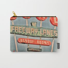 Freeway Lanes Bowl - Selma, CA Carry-All Pouch