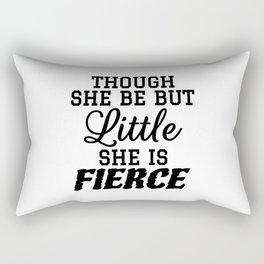 Little & Fierce Rectangular Pillow
