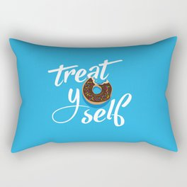 Treat Yo' Self Donut Rectangular Pillow