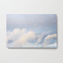 Clouds in November 5 Metal Print