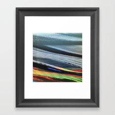 TV Scanning Framed Art Print