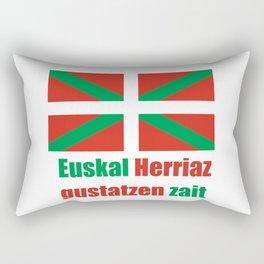 Flag of Euskal Herria 4 Rectangular Pillow