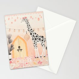Giraffe in Moroccan Stationery Cards