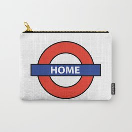 Underground Home Sign Carry-All Pouch
