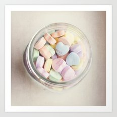 JAR OF LOVE Art Print