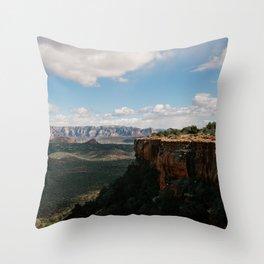 Doe Mountain, Sedona Throw Pillow