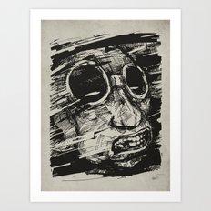 Speed Of Life II. Art Print