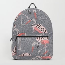 Asia pecking cranes Backpack