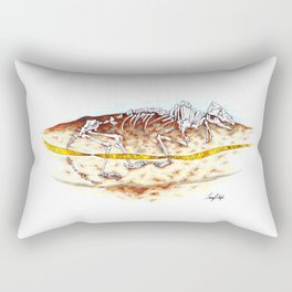 Sleuthing for Fossils Rectangular Pillow