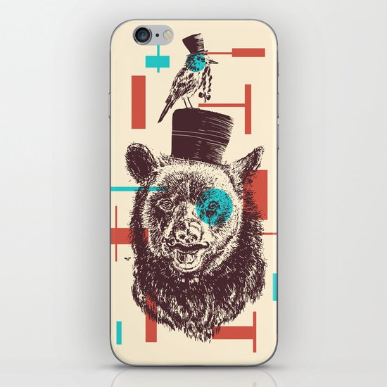 Beards iPhone & iPod Skin