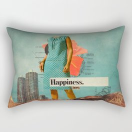 Happiness Here Rectangular Pillow