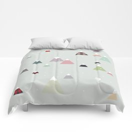 winter || in white Comforters