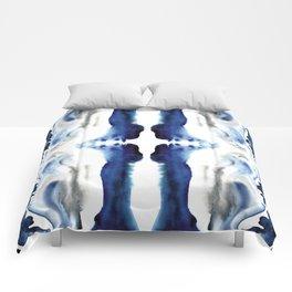 Indigo Geode Comforters