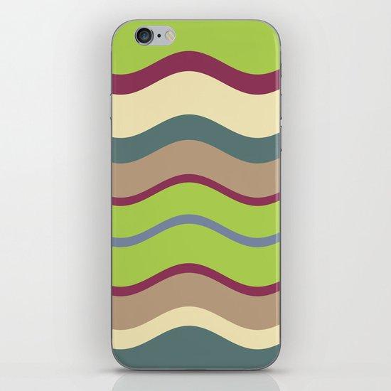 Appley Wave iPhone & iPod Skin