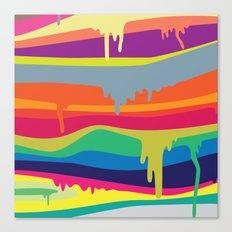 Melt On Canvas Print