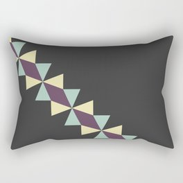 Oragami Traingles Rectangular Pillow