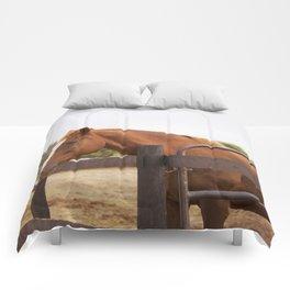 Bleu in the Morning Light Comforters