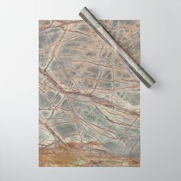 Brown Marble I Wrapping Paper