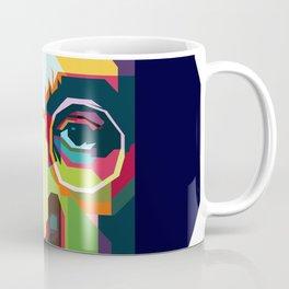 Jealous Guy Pop Art WPAP Coffee Mug