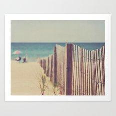 North Beach Art Print