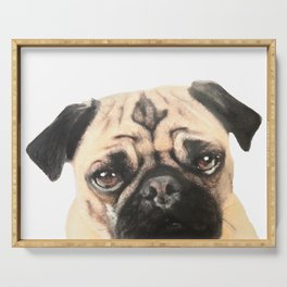 Pugging Love Serving Tray