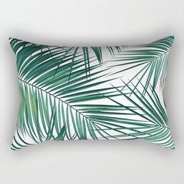 Palm Leaves - Green Cali Vibes #2 #tropical #decor #art #society6 Rectangular Pillow