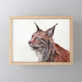 Lynx Framed Mini Art Print