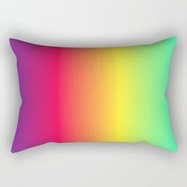 rainbow abstract Rectangular Pillow