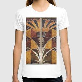 Art nouveau,Original wood work, elevator door, NYC Building T-shirt