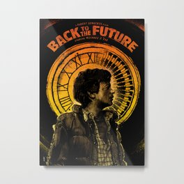 Back to the Future: Marty McFly  Metal Print