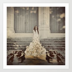 Bridal Portrait Art Print