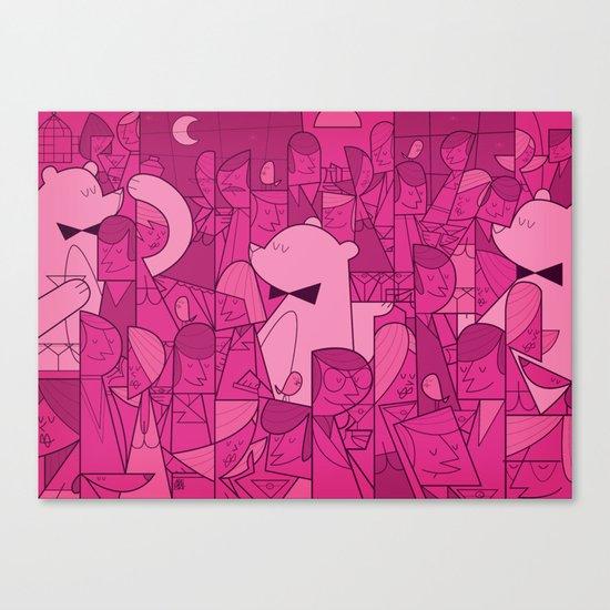 Pajama Party Canvas Print
