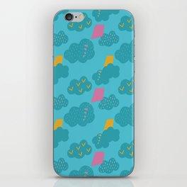 kites - blue iPhone Skin