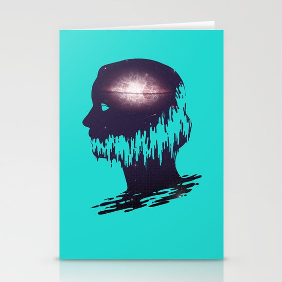 The World Forgetting by the World Forgot Stationery Cards