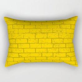 yellow brick Rectangular Pillow