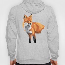Geometric Fox Hoody