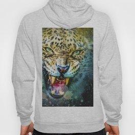 Leopard Cat Predator Hoody