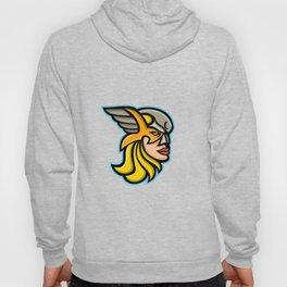 Valkyrie Warrior Mascot Hoody