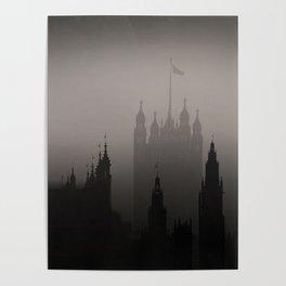 London Silhoueten Poster