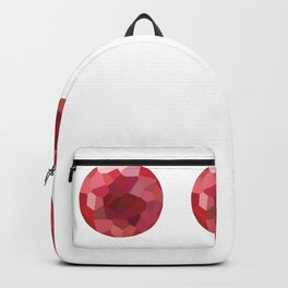 pomgranate 1x3 pattern, fill, repeating, tiled | elegant Backpack