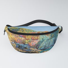 Cinque Terre, Italy | Painting Fanny Pack
